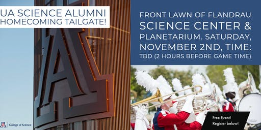 Homecoming 2019 - College of Science Alumni Tailgate