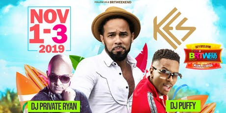 "BRT Weekend: ""Miami, FL"" 3-Day Caribbean Music Festival 