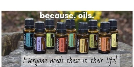 DoTERRA Rollerbottle Make & Take and Essential Oil Class