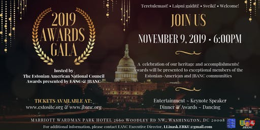 The 2019 Awards Gala hosted by EANC  and the 13th JBANC Baltic Conference