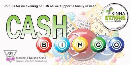 KinnaSTRONG Cash Bingo tickets