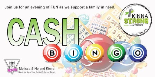 KinnaSTRONG Cash Bingo