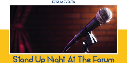Stand Up Night at The Forum