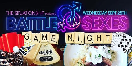 Battle Of The Sexes Game Night | Hump Day Happy Hour tickets