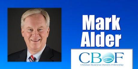 CBOF Dinner with Mark Alder tickets