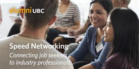 Speed Networking: Connecting job seekers to industry professionals tickets