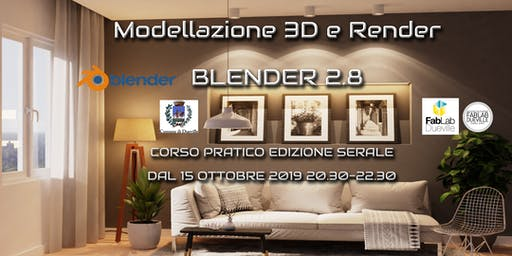 Corso Blender 2.8 modellazione e rendering