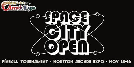 Space City Open Pinball Tournament at the Houston Arcade Expo tickets