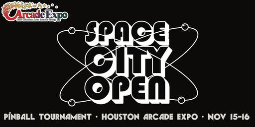 Space City Open Pinball Tournament at the Houston Arcade Expo