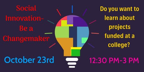 Social Innovation - Be a Changemaker tickets