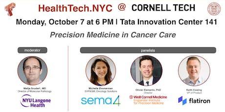 Precision Medicine in Cancer Care tickets