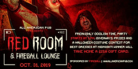 Red Room and Fireball Lounge: Halloween Party at All American Pub tickets