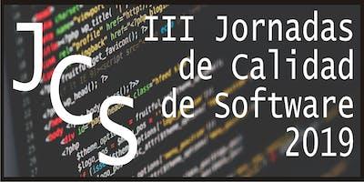 III Jornadas de Calidad de Software