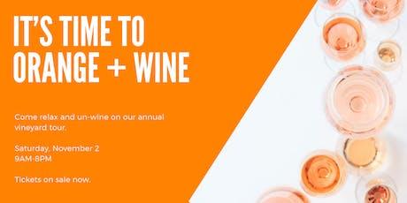 Orange & Wine tickets