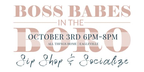 Boss Babes in the Boro - October tickets
