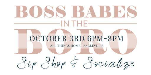 Boss Babes in the Boro - October