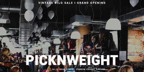 VINTAGE KILO SALE I GRAND OPENING I 30.000 VINTAGE PIECES I FREE ENTRY tickets