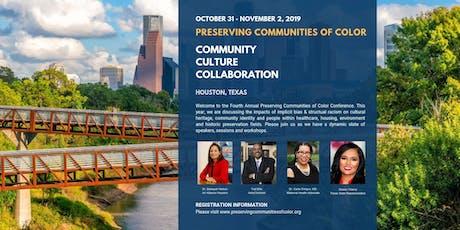 Preserving Communities of Color - October 30 Kick-off Reception tickets