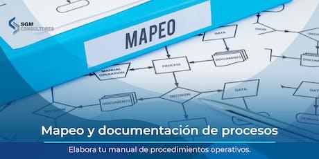 Mapeo y Documentación de Procesos - MTY tickets