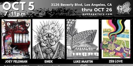 Joey Feldman, Emek, Luke Martin, and Zeb Love tickets