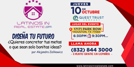 Diseña tu futuro, concreta tus metas, Por Alejandro Zelikowicz tickets