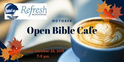 October Open Bible Cafe