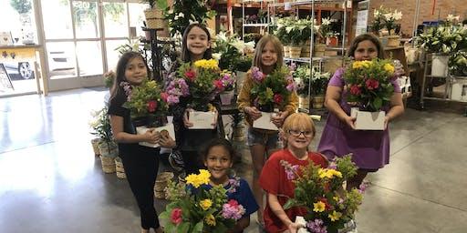 Girl Scouts Flower Badge Workshop