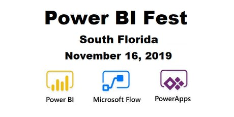 Power BI Fest - A Full Free Day of Power BI, PowerApps and Microsoft Flow tickets