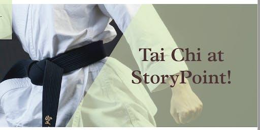 Tai Chi at StoryPoint!