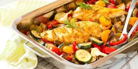 Cook and lunch! Chicken ratatouille tickets