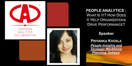 PEOPLE ANALYTICS : What is it? How does it help drive performance? tickets