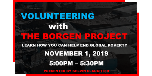 Volunteering with The Borgen Project