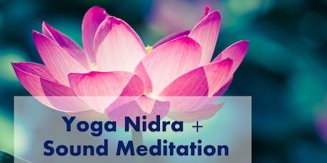 Yoga Nidra + Sound Meditation tickets