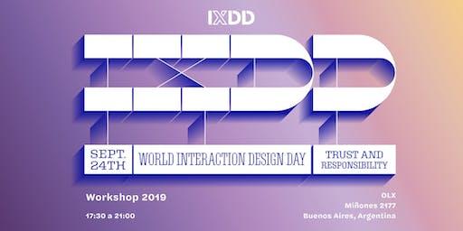 Día mundial del diseño de interacción Buenos Aires #IxDD19