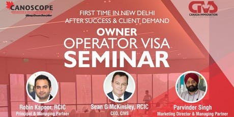 Owner Operator Visa - Pathway to Canadian PR Seminar tickets