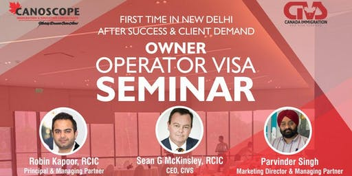 Owner Operator Visa - Pathway to Canadian PR Seminar