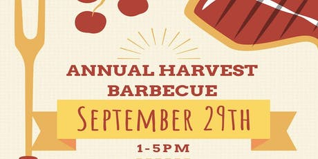 Annual Harvest BBQ tickets