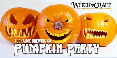 Witch-Craft Pumpkin Party @ Tuckahoe Brewing Co. tickets