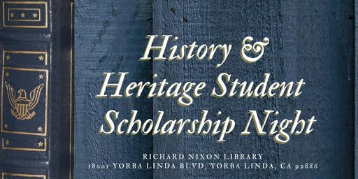 ASCE OC - 2019 History & Heritage / Student Scholarship Night