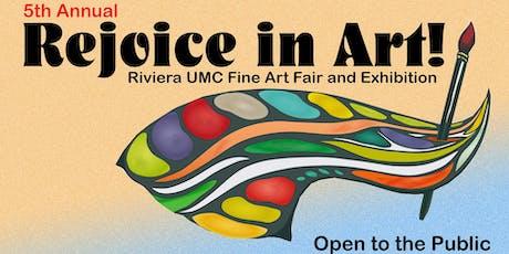 Rejoice in Art! Fine Art Fair & Exhibition tickets