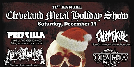 11th Annual Cleveland Metal Holiday Show feat. Priscilla tickets