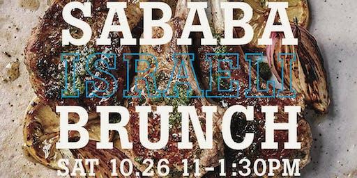 Sababa Israeli Brunch with Adeena Sussman