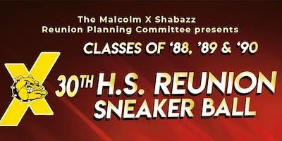 MXSHS 30th Class Reunion Sneaker Ball - Classes of 1988, 1989 & 1990