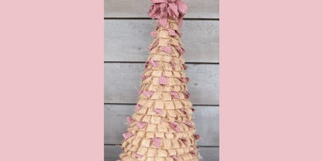 Rustic Burlap Cone Tree Workshop tickets