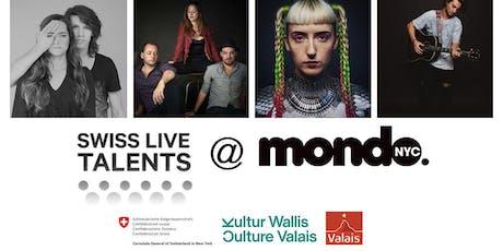 Mondo Festival - Swiss Live Talents (FREE w/ RSVP) tickets