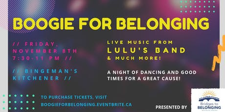 Boogie For Belonging tickets