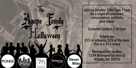 The Agape Family Halloween Party tickets