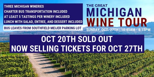 The Great Michigan Wine Tour II