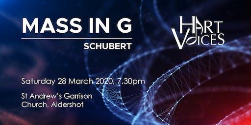 Schubert - Mass in G - A Hart Voices Concert