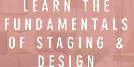 Home Staging 101 Training tickets